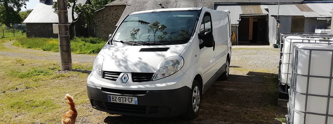 Le Renault Trafic